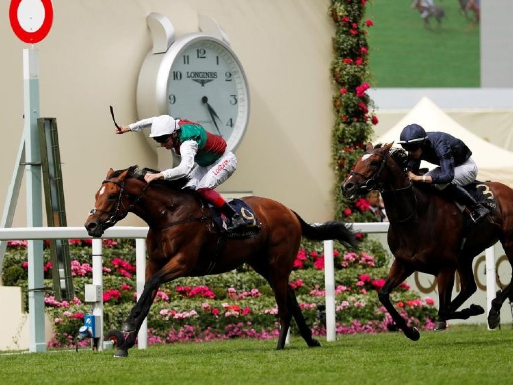 Without Parole, um Frankel, domina o primeiro dia do Royal Ascot