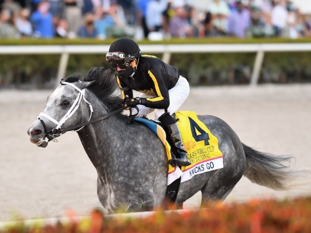 Knicks Go confirma favoritismo, larga e acaba na Pegasus World Cup (G1)